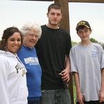 Grandma and the Hayes kids...Love you guys!