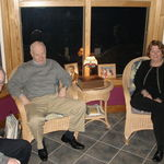 Dan Martin, Paul and Bobbi Martin in February 2011. Photo by Karyn Barry.