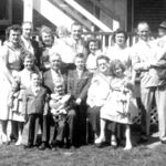 Lil,Joe,Helen,Connie,John, Josephine,Ann,John&Richie Middle-Sharon,Grandpa,Ron,Grandma,Sally,Barb Front-Mickey&Tom Apr 1955