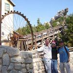 John, Vickie & Rigo @ Grizzly Rapids, DCA