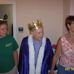 King Harry of Emeritus with Morgan and Debbie