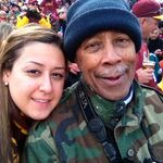 Shaggy and Bob at the Redskins Game