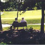 Dad & Pap Lerch relaxing at Virginia Oaks golf course