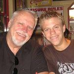 Toby and grandson, Scott.