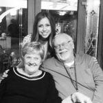 Toby and Arlene with granddaughter, Cherilynn.