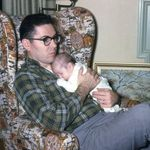 Dad and Baby Bob
