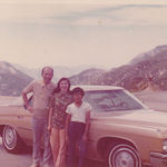 1974 road trip across the western US