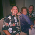 Randy and Travis with Grandmon 1-24-2009