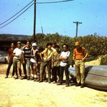 1970 canoe trip with scouts