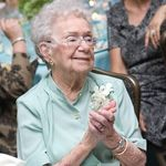Picture From her grandson's wedding July 25 2009