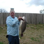 Dad catches the big one!