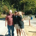 Dad, Daniel (son-in-law) and Heather at the Germanic city of Helen, GA ... Oompah!