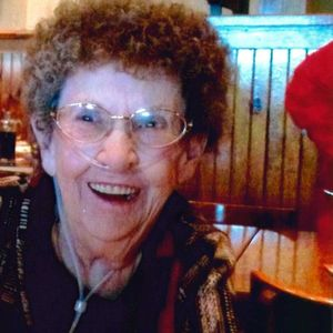 Betty J. Just Obituary Photo