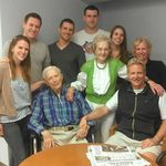 Bob and Joan, their son Scott, his wife Judy and all five grandchildren.