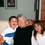 Nana, Brendan and Kaitlyn 2008