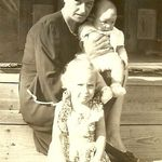 Nora with her Mother, Sula, and younger brother Bert.