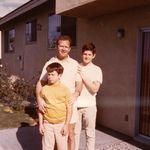 Denny, his son Chris and nephew Scott