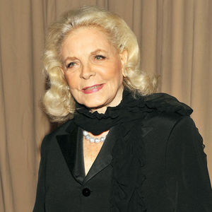 Lauren Bacall Obituary Photo