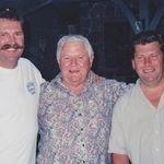 Scott, Dad, Kirk.