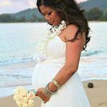 Amelia in Hawaii on mommy & daddy's wedding day