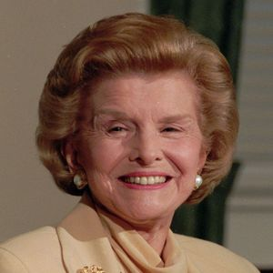 Betty Ford Obituary Photo