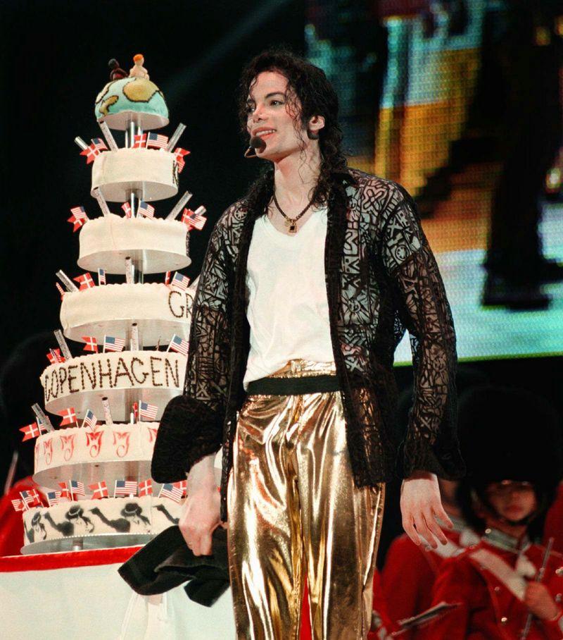 Happy Birthday Michael Jackson Cake