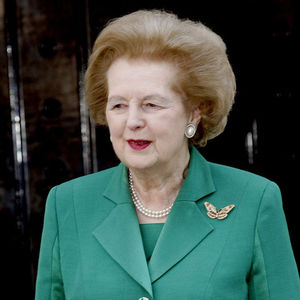 Margaret Thatcher  Obituary Photo