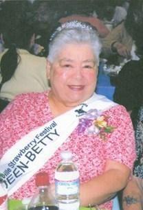 Betty Jean Taylor obituary photo
