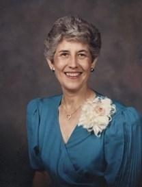 Pattie Goodall Robertson obituary photo