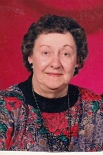 Mildred Doris Armfield obituary photo