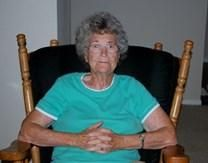 Mildred Faye Spirlock obituary photo