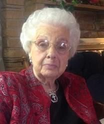 Blanche McAlister Bagley obituary photo