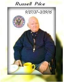 Russell Waldron Pike obituary photo