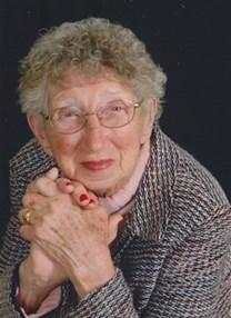 Irma L. Metzner obituary photo