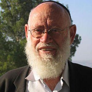 Rabbi Moshe Levinger Obituary Photo