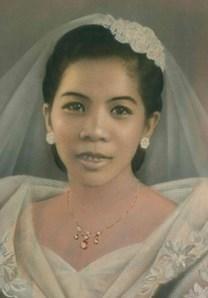 Leonor Dacuycuy Padua obituary photo