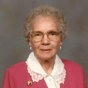 Velma Annie Timmer Obituary Photo