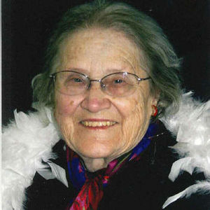 Betty Van Drunen Obituary Photo