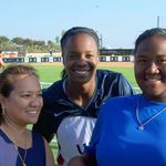 Claire, Natasha Watley, and Kyrstin during an autograph signing session in 2005 at ARCO Olympic Training Center by the 2004 Olympic Softball team.