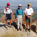 Leo, Jim & Gordon at Eisenhower Hike