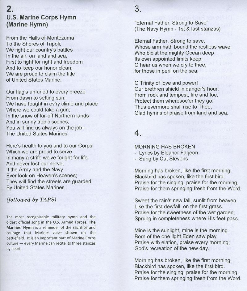 Lyric marine corps hymn lyrics : Joe Cone Obituary - Austin, Texas - Weed-Corley-Fish Funeral Home ...