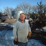 Brother and farming partner Billy Laprath.