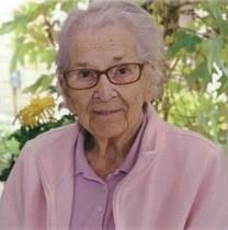 Florence Violet Swanson obituary photo