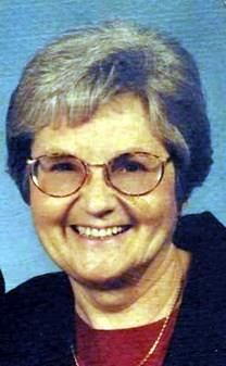 Marcella Mae Ward obituary photo
