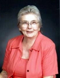Georgia Ann Morgan obituary photo