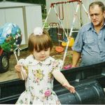 Jim on Easter with his granddaughter Kristine
