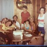 Uncle Johnny, Aunt Dot, Tena and Dru with family