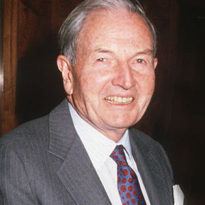 David Rockefeller Obituary Photo