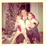 Mid-60's Christmas with Kim and Rocky.