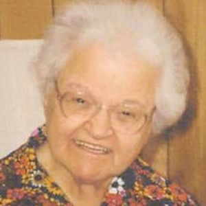 Sr. Irene Parenteau, CSC Obituary Photo
